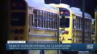 Debate over reopening Arizona classrooms