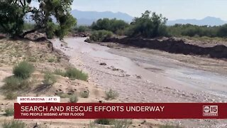 Arizona hit hard by monsoon storms