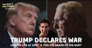 Trump Declares War On The GOP... Slams Mitch McConnell
