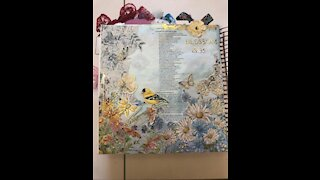 Let's Bible Journal Isaiah 35- Blossom (from Lovely Lavender Wishes)