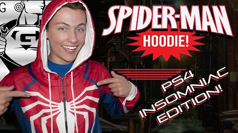 Spider-man PS4 hoodie review