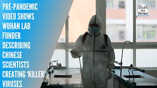 Pre-pandemic video shows Wuhan lab funder describing Chinese scientists creating 'killer' viruses