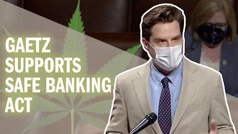 Gaetz Calls on Democrats to Urge Biden to Remove Marijuana From Schedule 1 Drug List