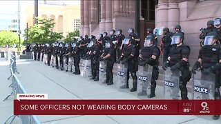 Isaac: Some CPD officers working protests aren't wearing body cameras