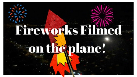 Southwest plane lands to 4th of July fanfare!!