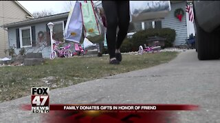 Family honors son with charity efforts