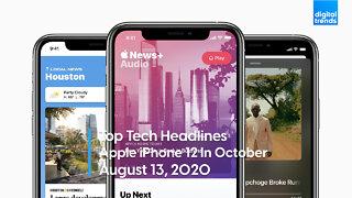 Trending Tech Headlines | 8.13.20 | Apple iPhone Launch In October