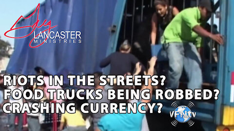 RIOTS IN THE STREETS, Food Trucks being Robbed, and Crashing Currency? John Paul Jackson