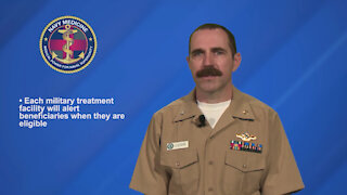 Will TRICARE beneficiaries have access to the vaccine? Cmdr. Legendre