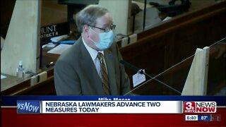 Nebraska lawmakers advance two measures Tuesday