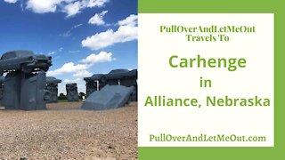 Carhenge in Alliance, Nebraska with PullOverAndLetMeOut