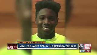 Community comes together to remember Jabez Spann