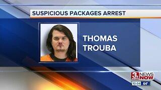 Suspicious Packages Arrest