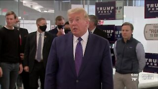 Trump campaign pushes for votes