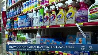 How Coronavirus is affecting local sales