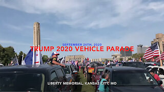Trump 2020 Vehicle Parade
