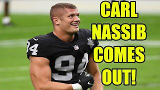 Carl Nassib becomes the first ACTIVE NFL player to come out as GAY! | ESPN will WEAPONIZE this!
