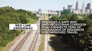 Cleveland Metroparks unveils Red Line Greenway urban trail connecting 8 neighborhoods