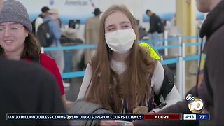 Airlines not requiring passengers to wear masks