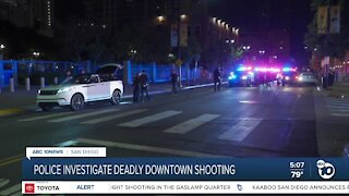 Police investigating deadly Gaslamp District shooting