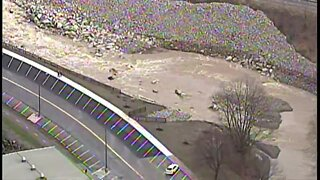 RAW: AirTracker 5 provides aerial view of flooding