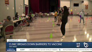San Ysidro clinic breaks down barriers