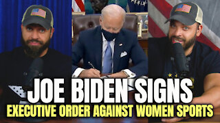 Joe Biden Signs Executive Order Against Women Sports