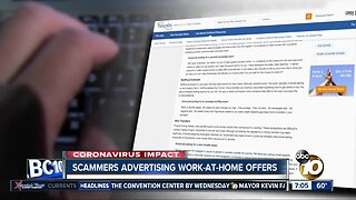 Scammers targeting people looking for remote jobs