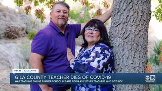 Gila County teacher dies of COVID-19