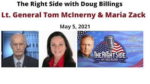 BREAKING NEWS from Maria Zack & General Tom McInerny