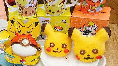 Japan Makes Cutest Pokemon Christmas Donuts!