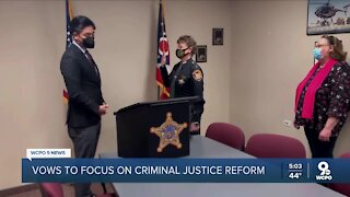 McGuffey vows focus on criminal justice reform as sheriff