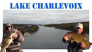 Lake Charlevoix Bass Fishing Early 2021