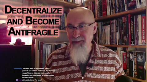 Save Money, Protect Yourself & Your Family, Decentralize, Become Antifragile: Don't Buy Their Poison