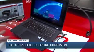 Dont Waste Your Money: Back-to-school shopping confusion