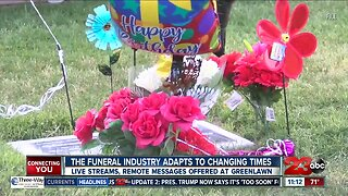Local funeral services adapting during pandemic