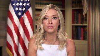 White House Press Secretary Kayleigh McEnany talks with News 5 about President's Goodyear boycott tweet
