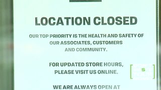 Stores that will not be reopening