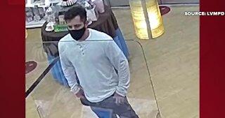Las Vegas police say man arrested for indecent exposure