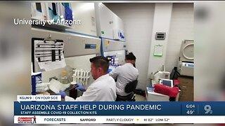 UA doctor helps make coronavirus tests