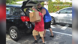 Over 300 families in need fed Saturday in Lake Worth Beach