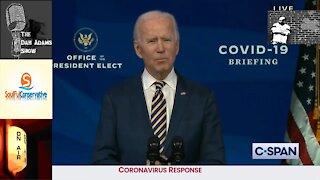 Joe Biden refers to Kamala Harris as 'president-elect'