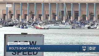 Boat parade celebrating Lightning's Stanley Cup run