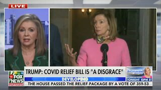 Marsha Blackburn Absolutely Dismantles the Disastrous, Swamp-Centered Stimulus Bill