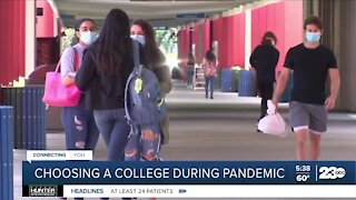 Choosing a college during pandemic