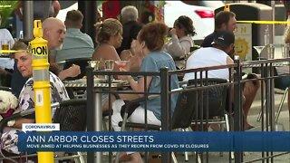 Ann Arbor closes streets