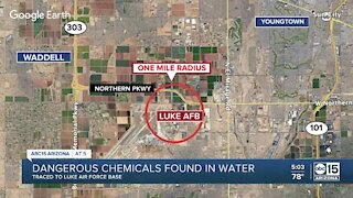 Dangerous chemicals found in water