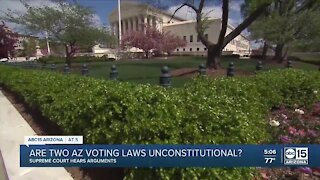 Are two Arizona voting laws unconstitutional?