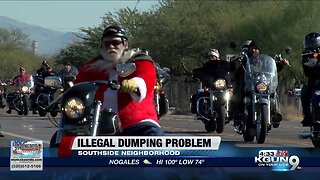 Neighbors upset by illegal dumping on southside
