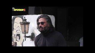 Suniel Shetty and Aditya Roy Kapur Spotted at Hakim's Aalim Hair Salon | SpotboyE